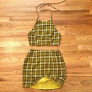 Deon Skirt Set by Superdown